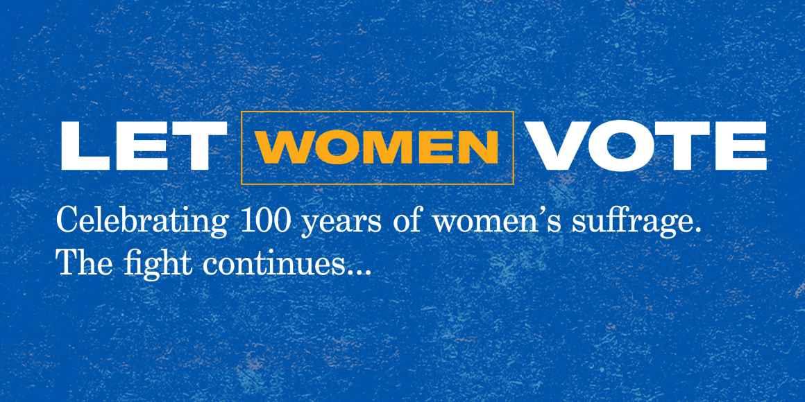 Let women vote.