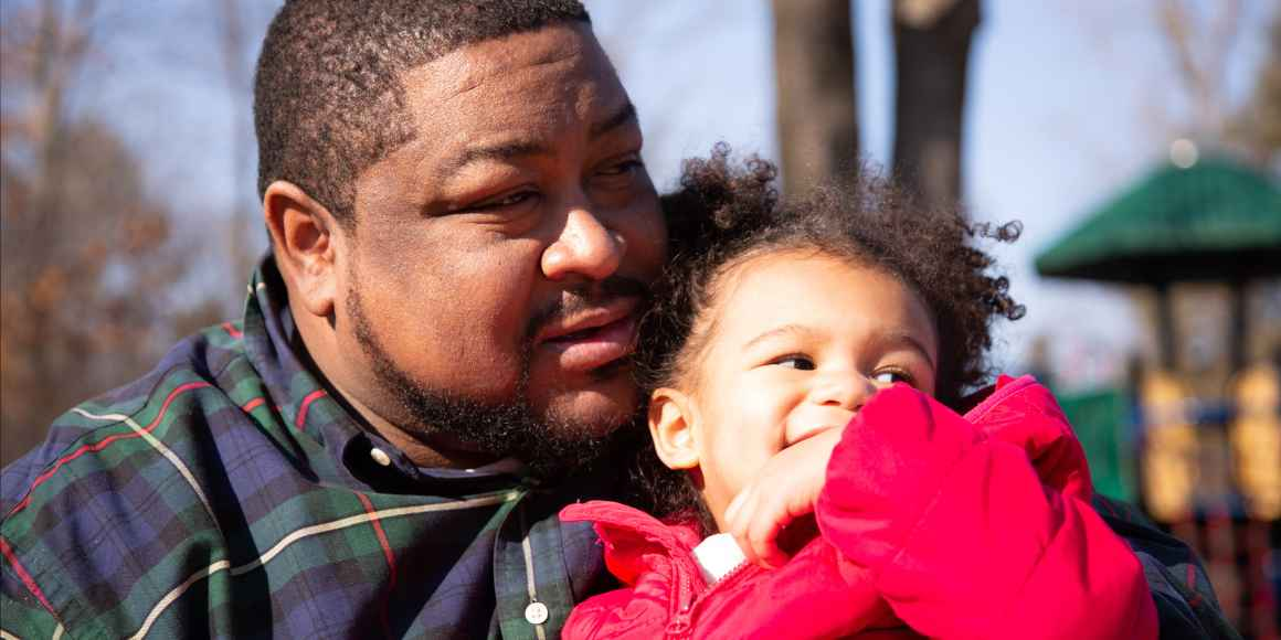 Robert Williams and his daughter, Rosie Williams