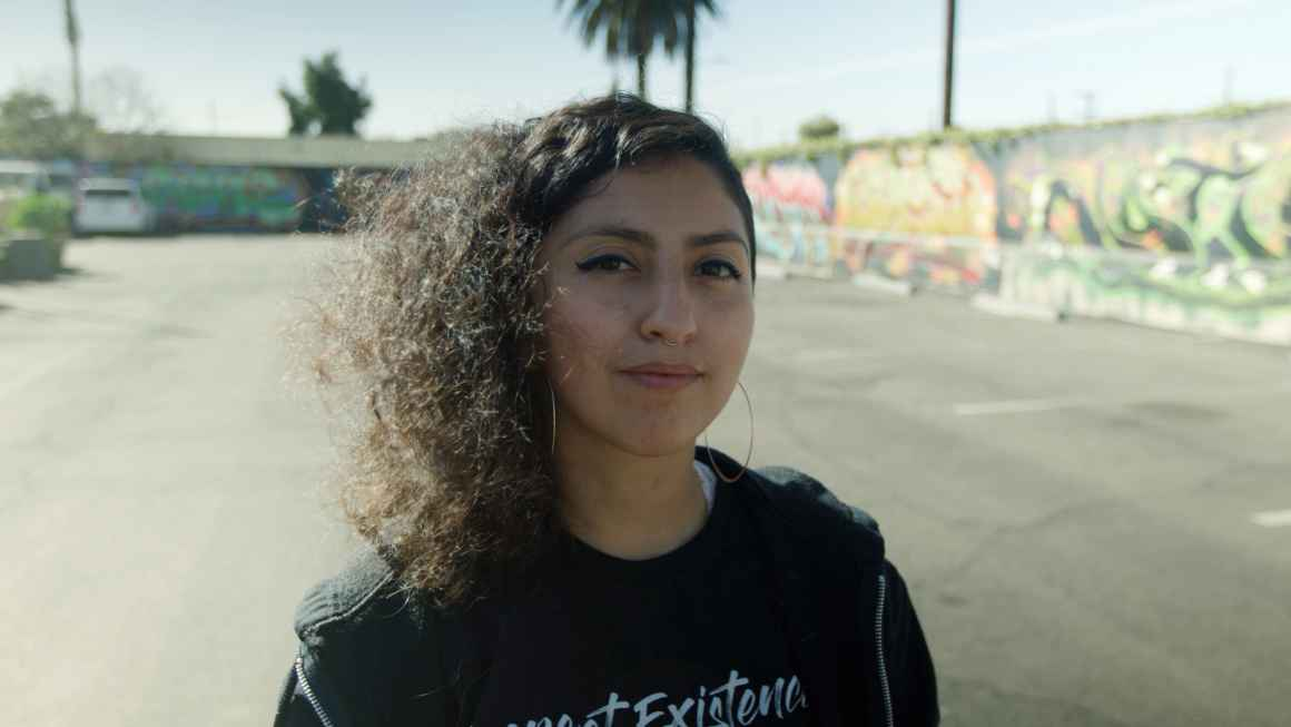 Nalya Rodriguez of the Youth Justice Coalition in Los Angeles