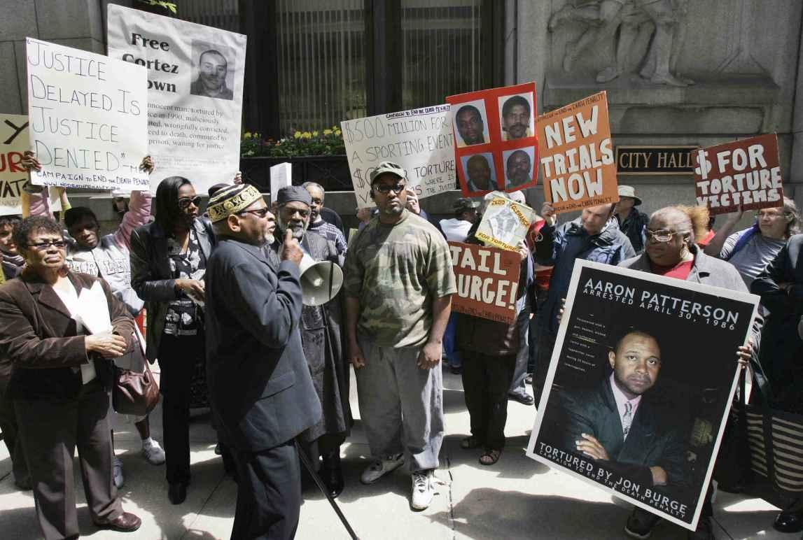 Chicago Torture Protest