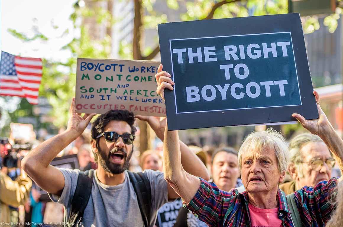 Boycott Israel Protest