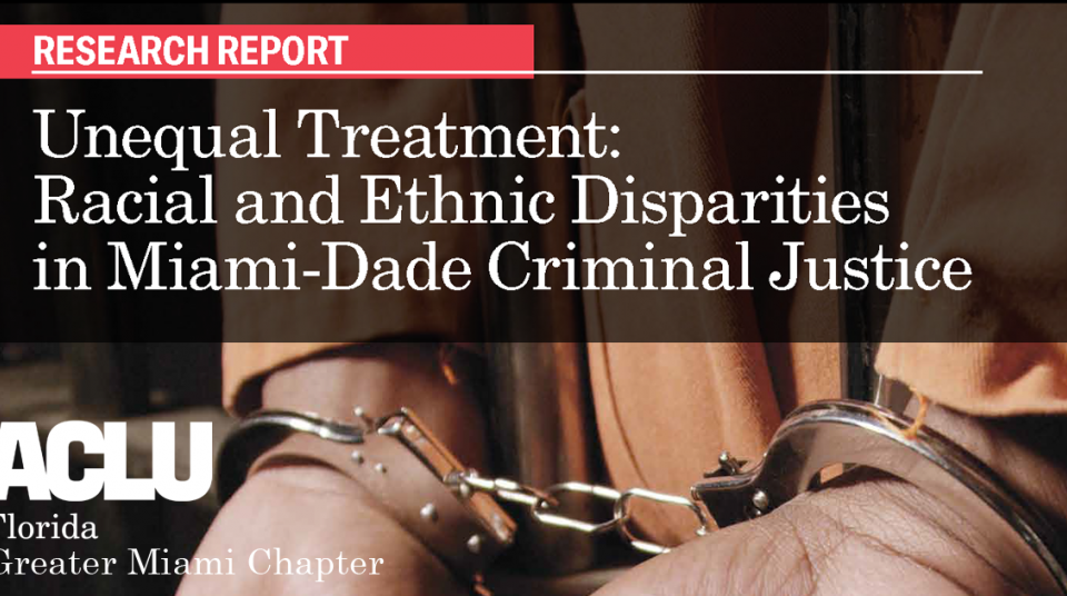 unequal treatment racial and ethnic disparities in miami dade