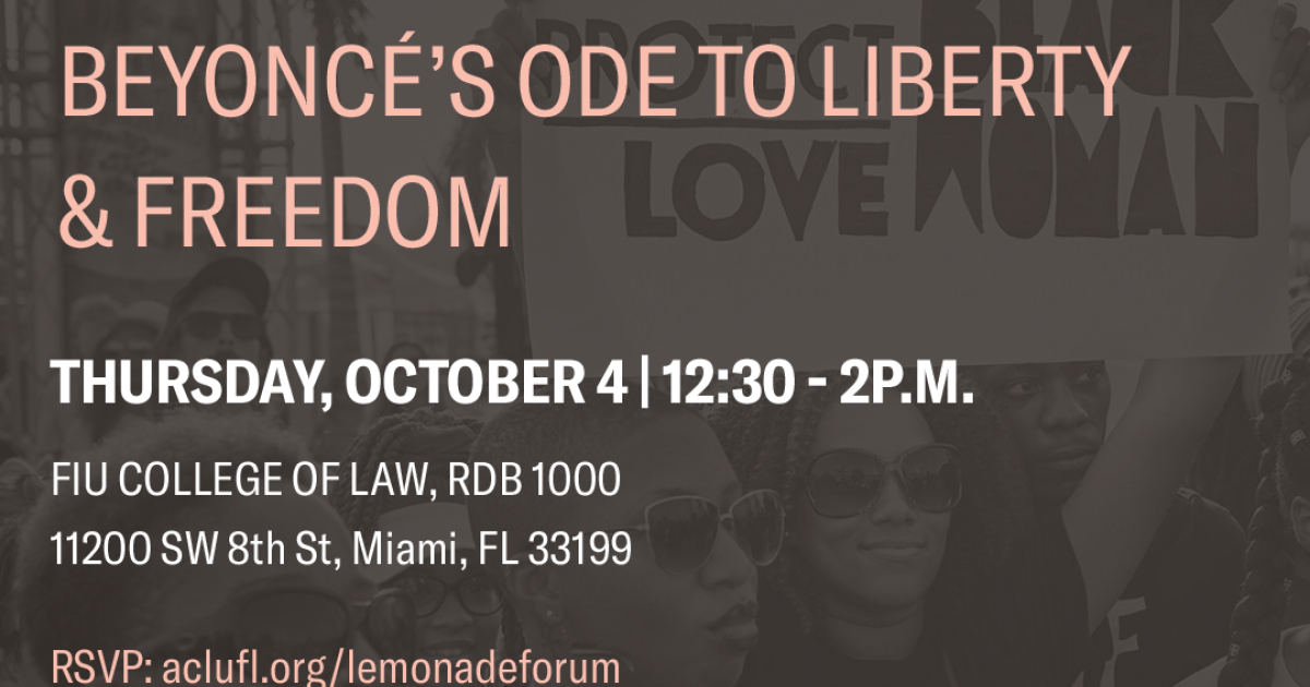 """Civil Rights through the Lens of """"Lemonade:"""" Beyoncé's Ode to"""