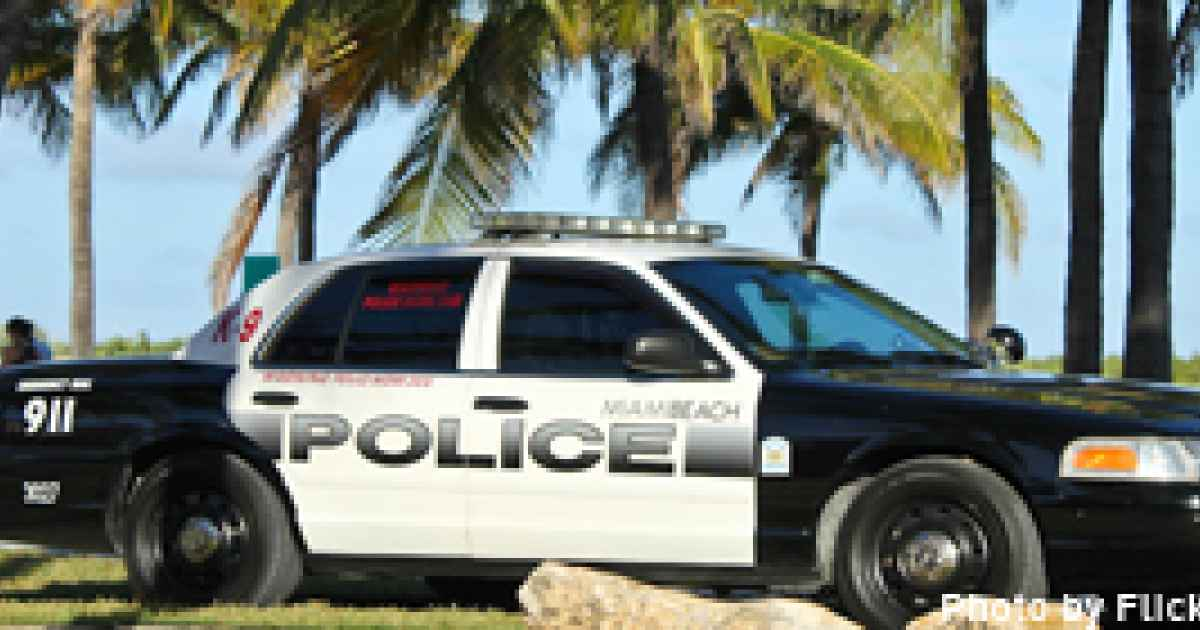 racism overwhelming the miami beach police department, and
